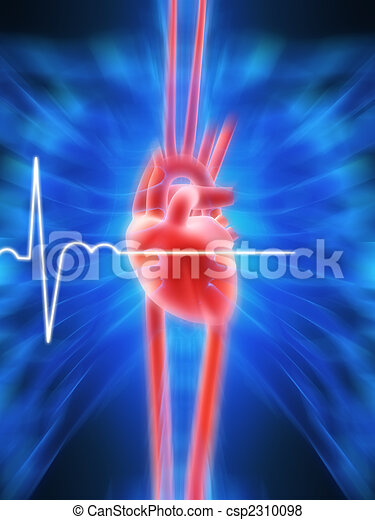 human heart - csp2310098