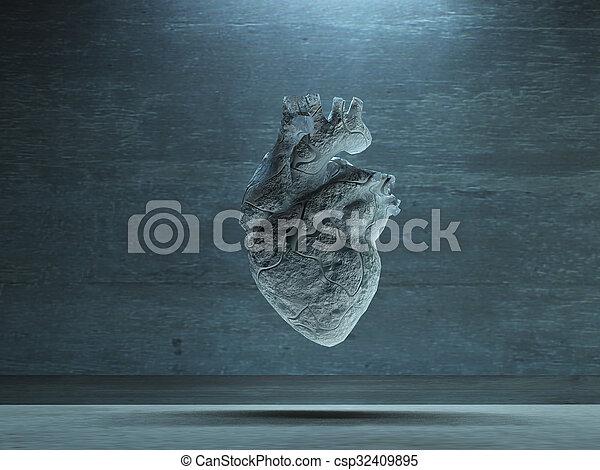 Human Heart - csp32409895