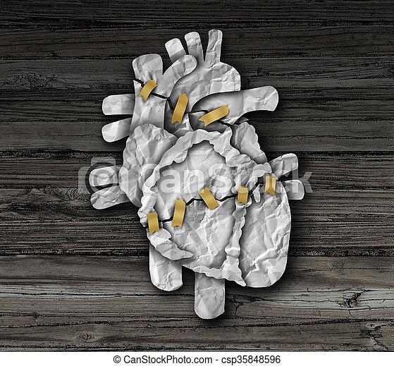 Human Heart Surgery - csp35848596