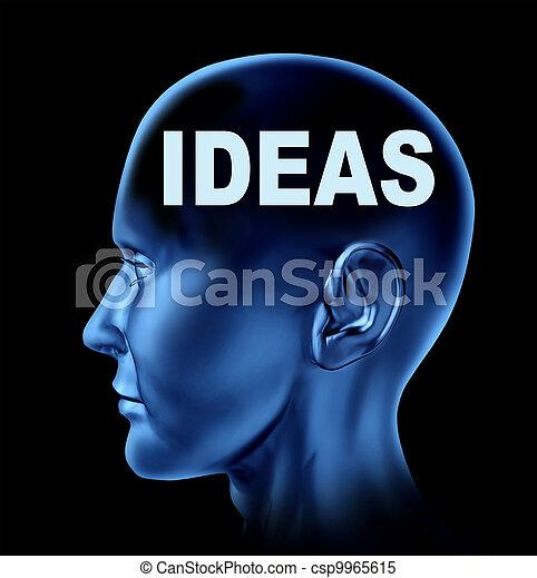 Human Ideas - csp9965615