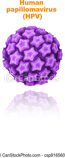 Human papillomavirus (HPV). - csp9165609