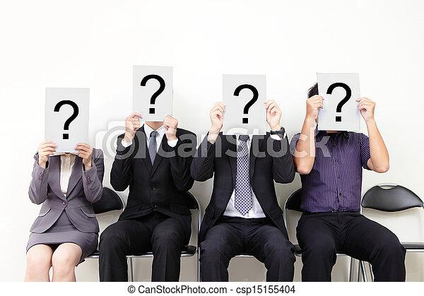 Human resource concept - csp15155404