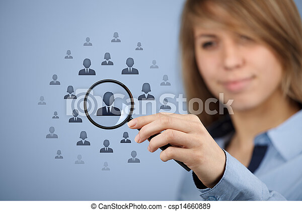 Human resources and CRM - csp14660889