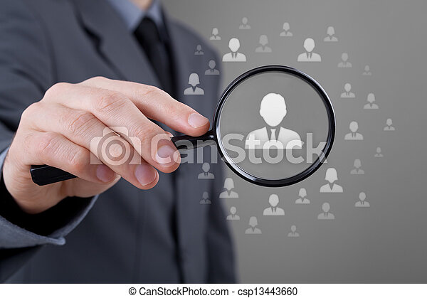 Human resources and CRM - csp13443660
