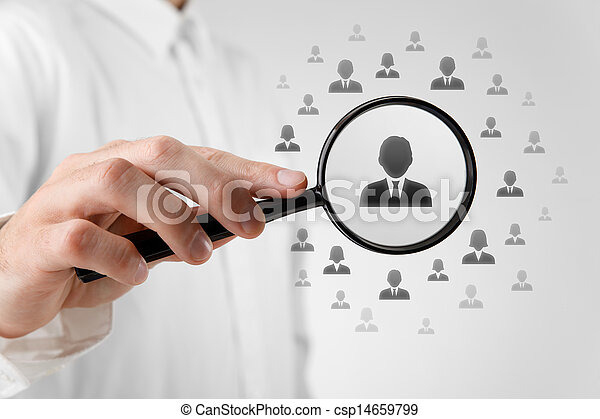Human resources and CRM - csp14659799