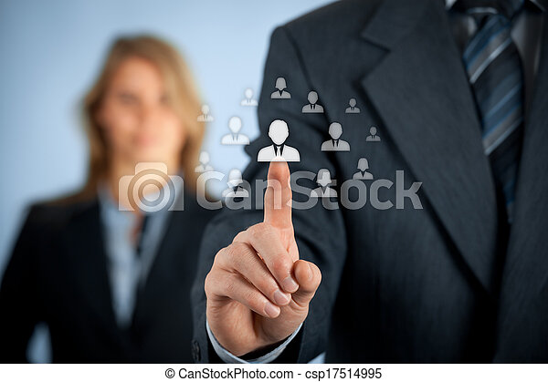 Human resources and CRM - csp17514995