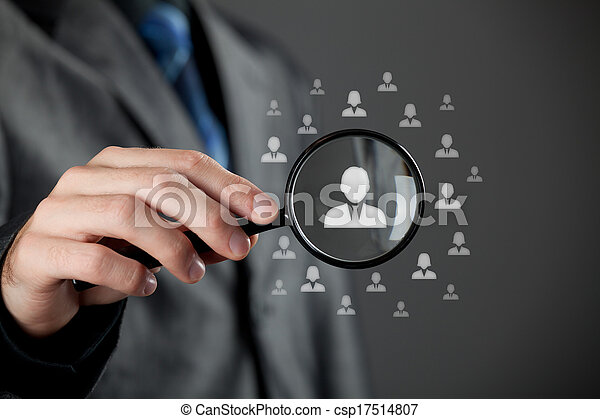 Human resources and CRM - csp17514807