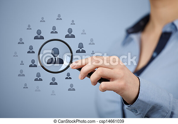 Human resources and CRM - csp14661039