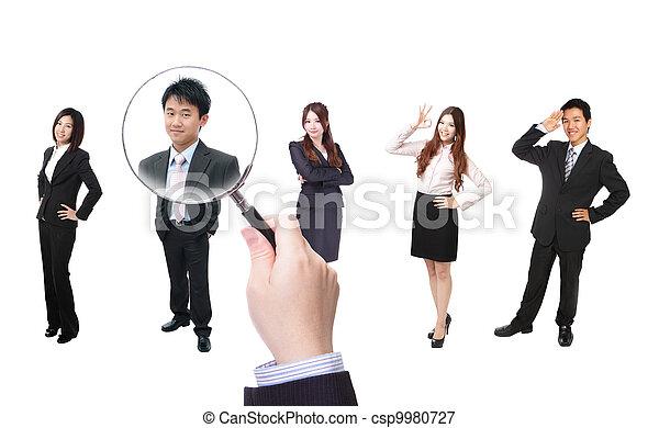 Human Resources concept - csp9980727