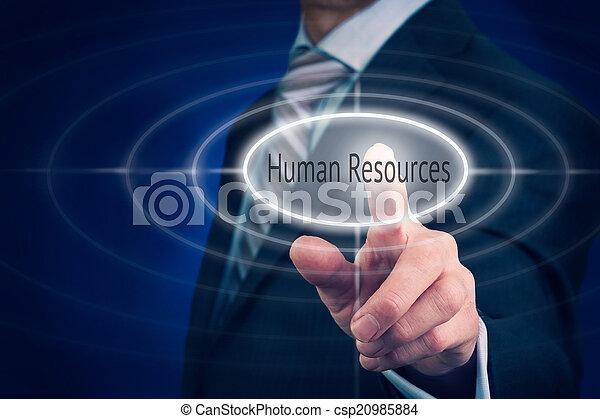 Human Resources Concept - csp20985884