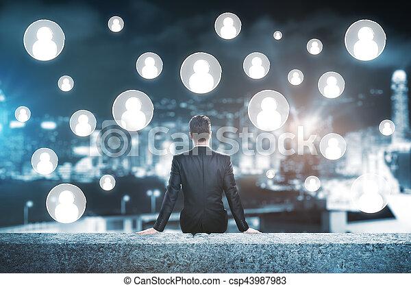 Human resources concept - csp43987983