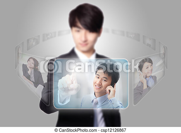 Human Resources concept - csp12126867