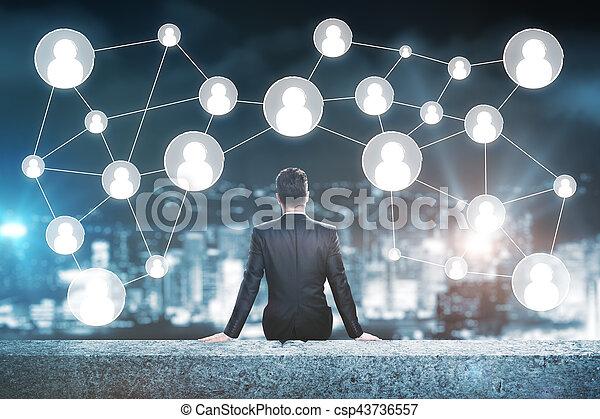 Human resources concept - csp43736557