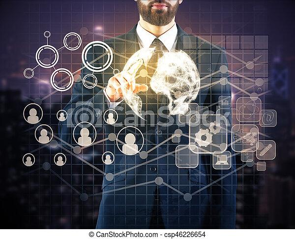 Human resources concept - csp46226654