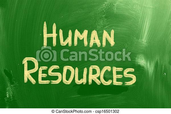 Human Resources Concept - csp16501302
