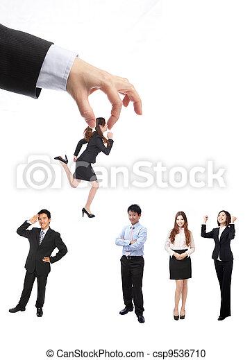 Human Resources concept - csp9536710