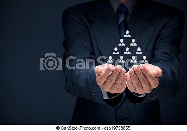 Human resources - csp19738855