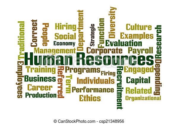 Human Resources - csp21348956