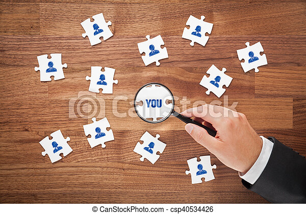 Human resources - csp40534426