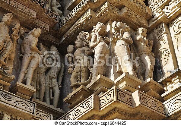 Human Sculptures, Khajuraho, India