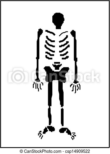 human skeleton vector vector illustration search clipart drawings rh canstockphoto com skeleton vector cartoon skeleton vector free download