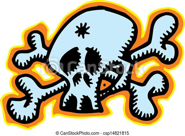 human skull - csp14821815