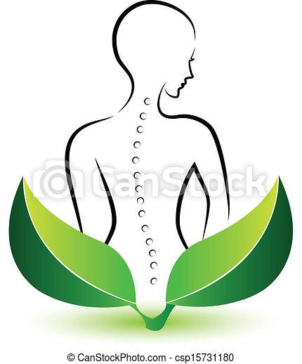 Human Spine logo - csp15731180