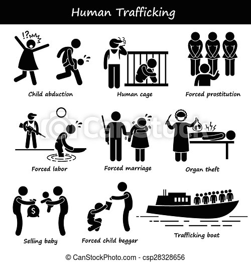 how to stop human trafficking problem