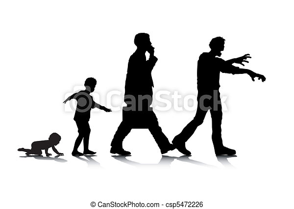 Edad humana 7 - csp5472226