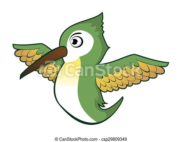 humming bird - csp29809349