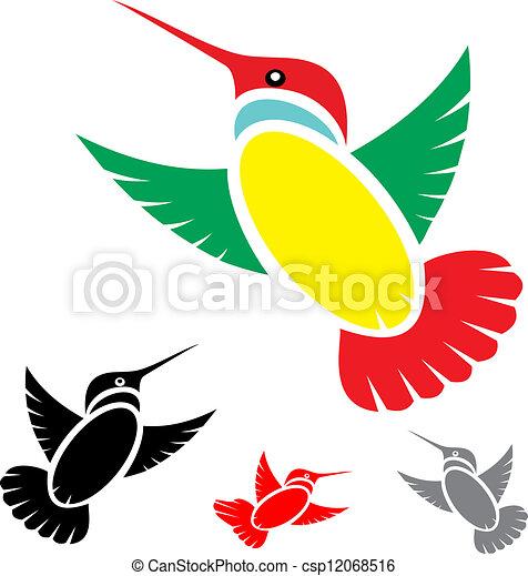 humming bird - csp12068516