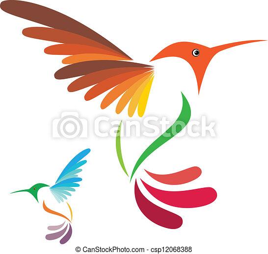 humming, pássaro - csp12068388