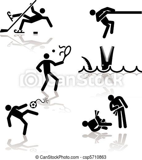 Humor olympic games - 3 - csp5710863