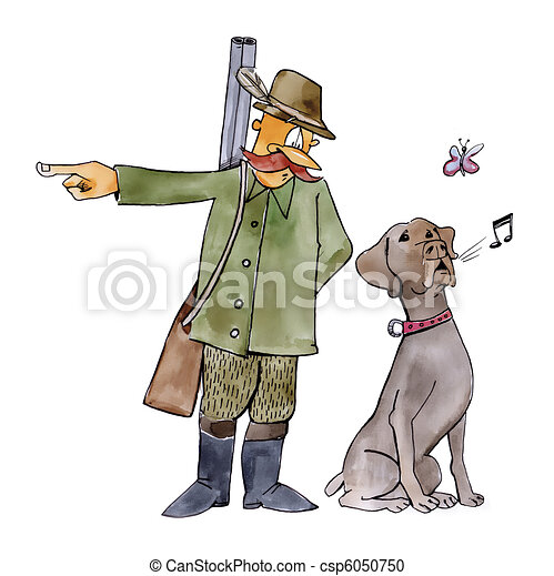 hund, jagt, retriever - csp6050750