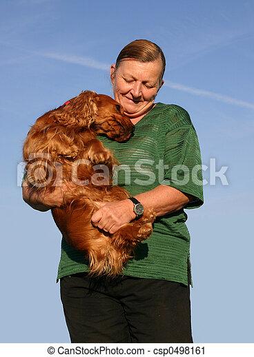 hund, kamrat - csp0498161
