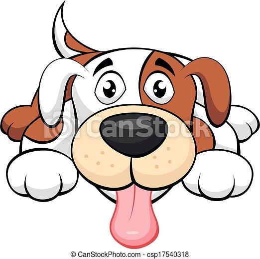 Süßer Hundetrickfilm - csp17540318