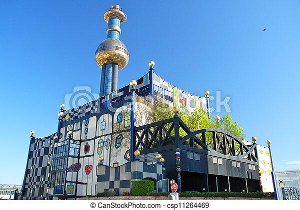 Hundertwasser district heating plan - csp11264469