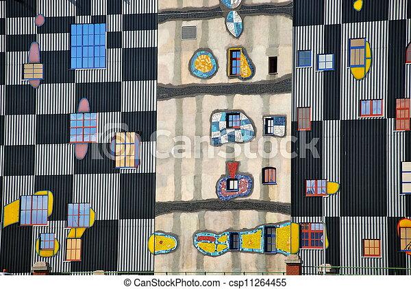 Hundertwasser district heating plan - csp11264455