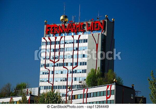 Hundertwasser district heating plan - csp11264449