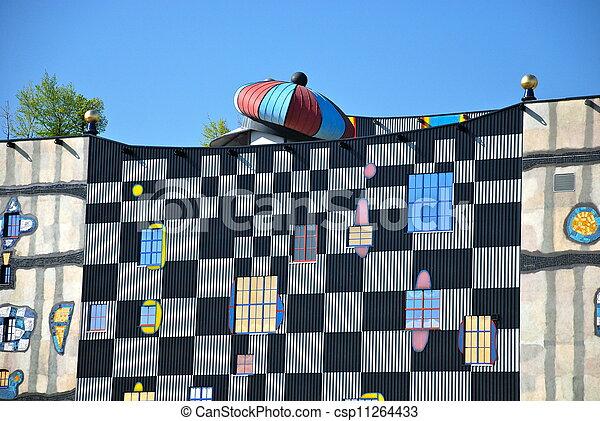 Hundertwasser district heating plan - csp11264433