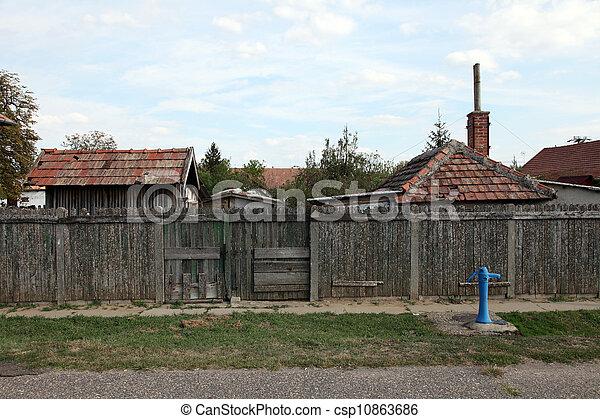 Hungarian village - csp10863686