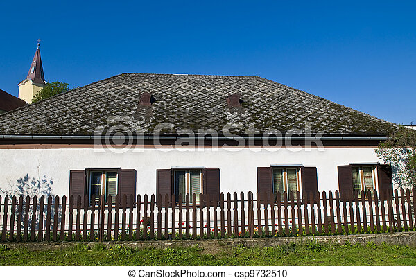 Hungarian village - csp9732510