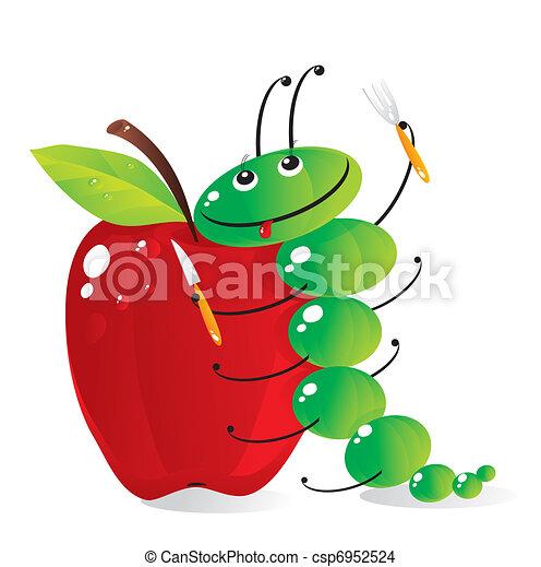 hungry caterpillar - csp6952524