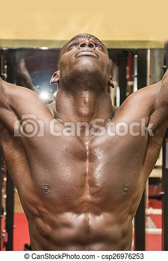 Bodybuilder black Baltimore Sun