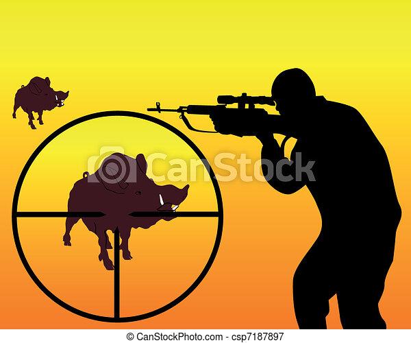 hunter - csp7187897