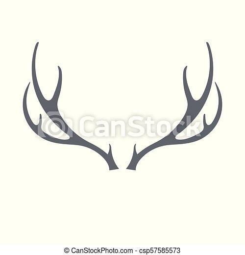 Hunting club logo icon - csp57585573
