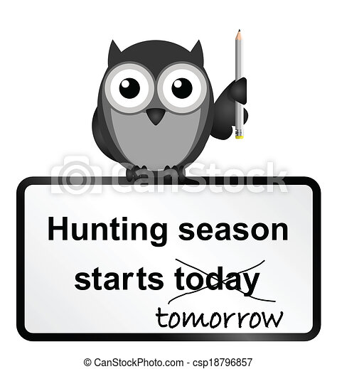 Hunting season - csp18796857