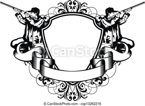 huntings frame - csp13262216