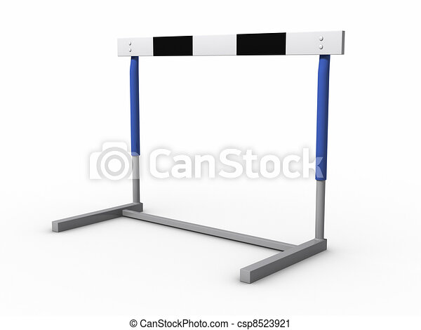 hurdle clipping path included rh canstockphoto com Hurdles Animated GIF Hurdles Animated GIF