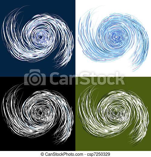 Hurricane Drawing Set - csp7250329